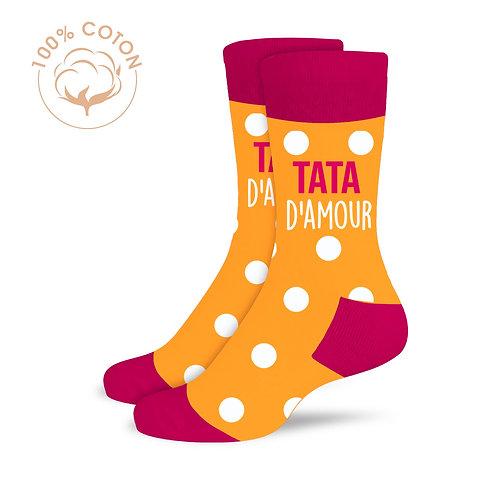 "Chaussettes ""Tata d'amour"""
