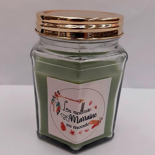 "Bougie parfumée ""Meilleure Marraine"""
