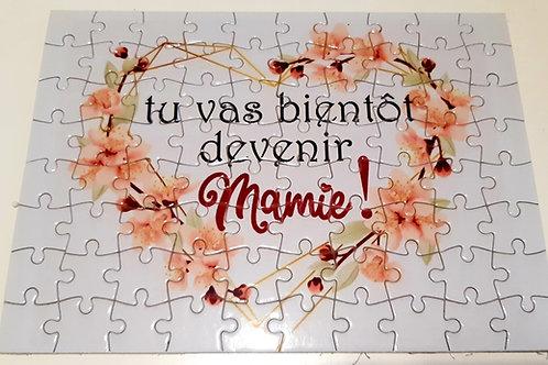 Puzzle Tu vas bientôt devenir Mamie!