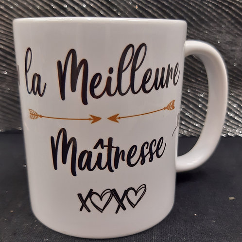 "Mug ""meilleure Maîtresse"""