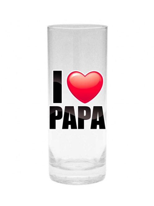 Verre I LOVE Papa