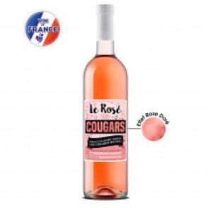 """Bouteille """" Rosé des cougars"""""""