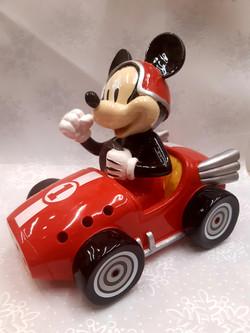 Tirelire voiture Mickey