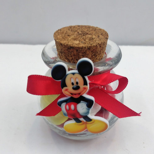 Bocal mickey rouge