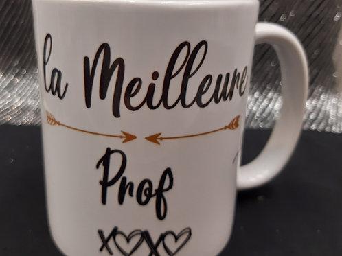 Mug de la meilleure Prof