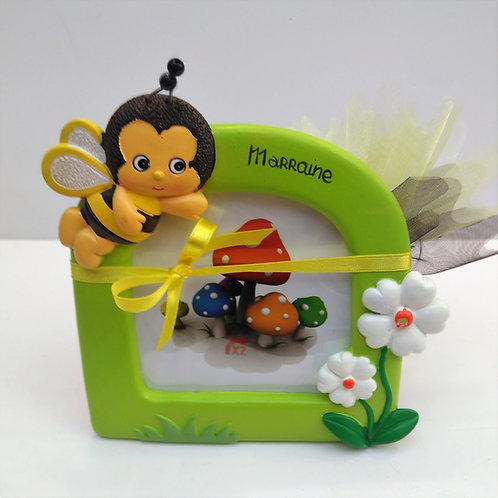 Cadre abeille