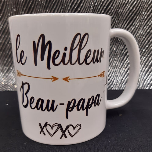 Mug du meilleur Beau-Papa