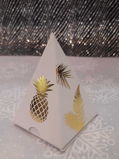 Boite pyramide Ananas