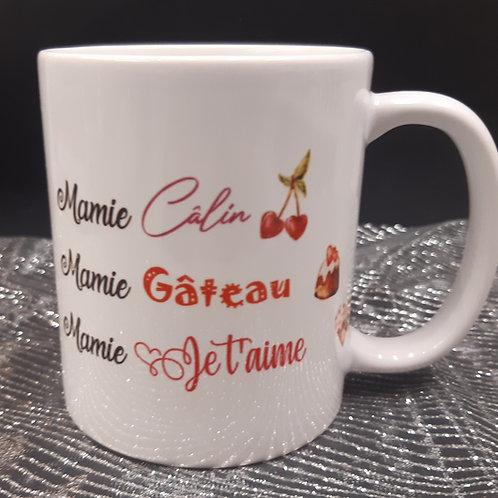 Mug MAMIE Câlin, Gâteau