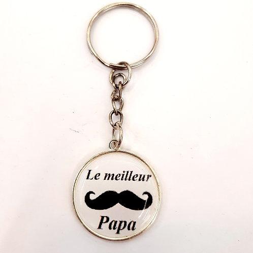 """Porte clé """"Le meilleur Papa"""""""