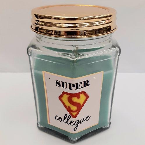"""Bougie parfumée """"Super Collègue"""""""