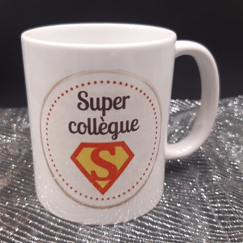 Mug Super collègue