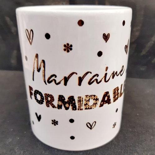 Mug MARRAINE formidable