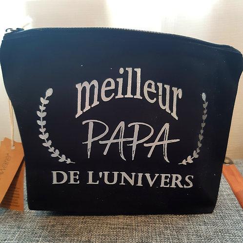 """Pochette zippée """"Meilleur Papa"""""""