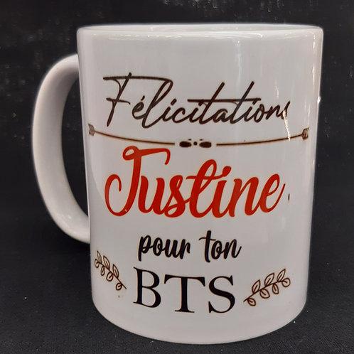 Mug personnalisé DIPLOME