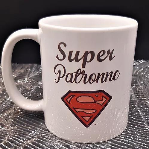 "Mug ""Super Patrronne"""