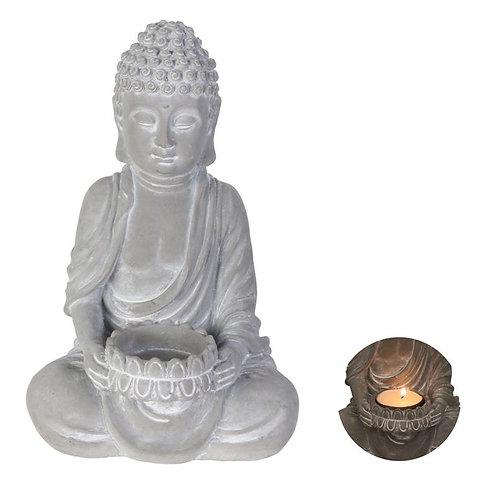 Statue Bouddha + bougie