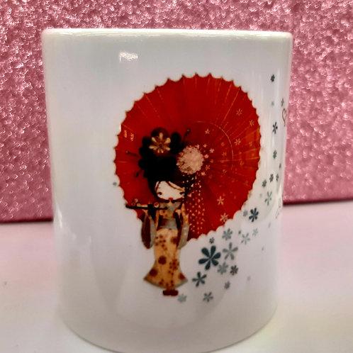 Mug Japonaise ombrelle