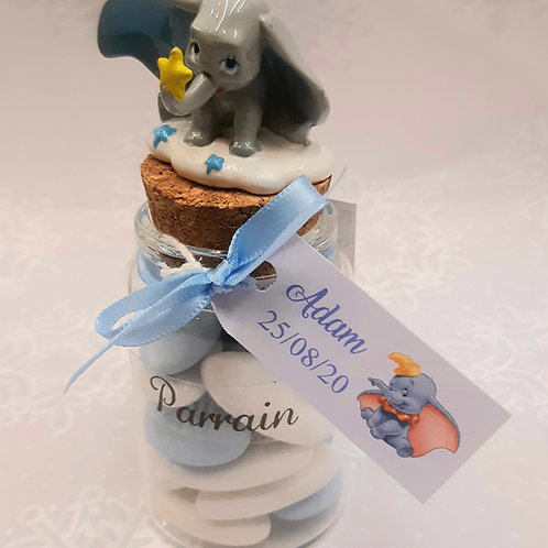 Bocal Dumbo parrain/ Marraine