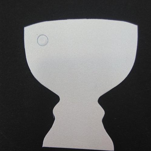 Etiquettes calice blanc