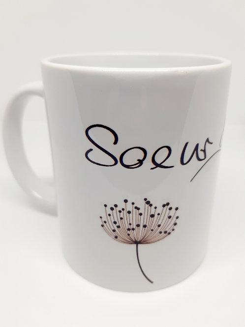"""Mug """"Soeur de Coeur"""""""