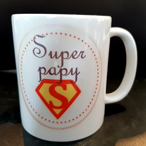 """Mug """"Super Papy"""""""