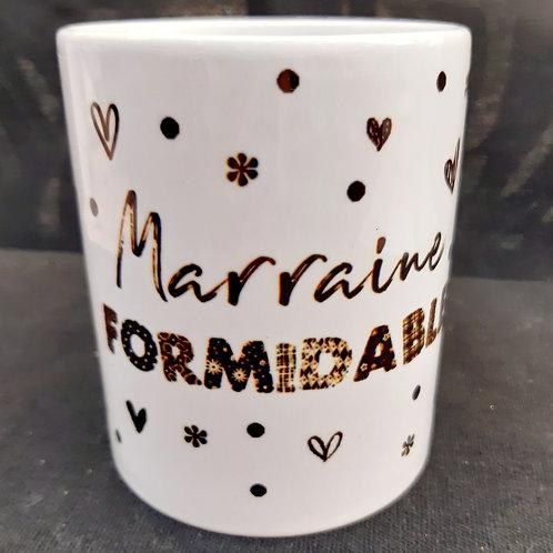 """Mug """"Marraine Formidable"""""""