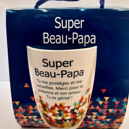 "Mug "" Super Beau Papa"""