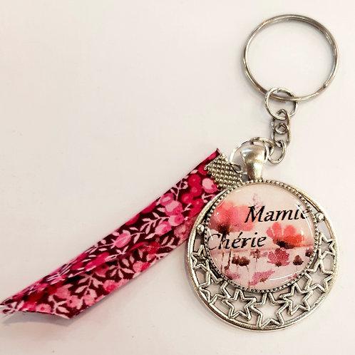 """Porte clé """"Mamie Chérie"""""""
