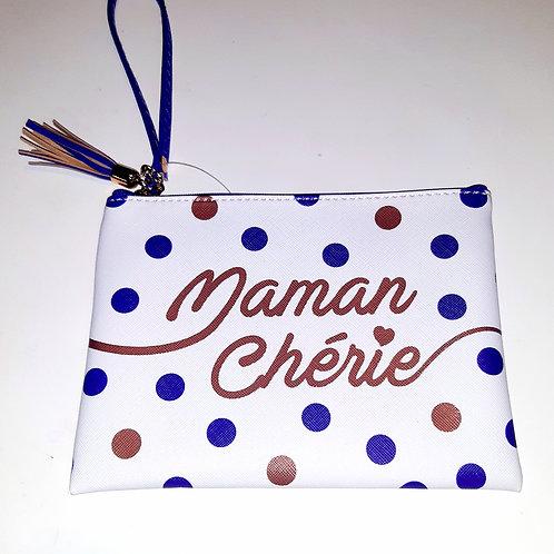 """Pochette maquillage """"Maman chérie"""""""