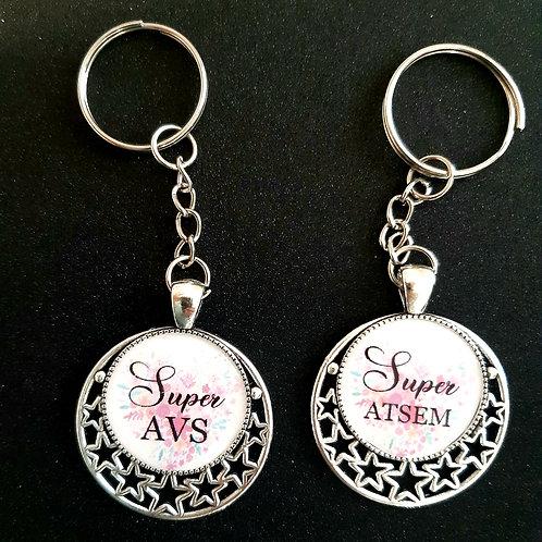 Porte clé AVS /ATSEM