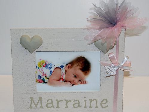 Cadre Bois Marraine