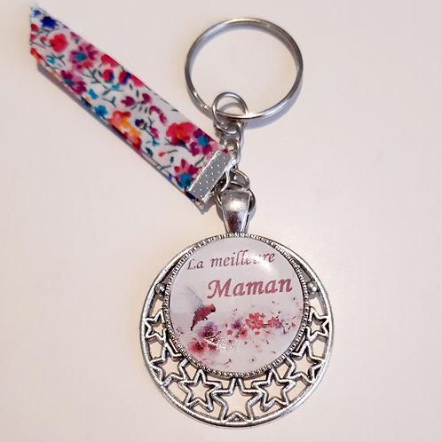 """Porte clé """"La meilleure maman"""