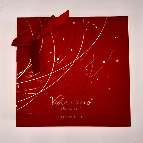 Coffret prestige Valentino carré / 12 chocolats