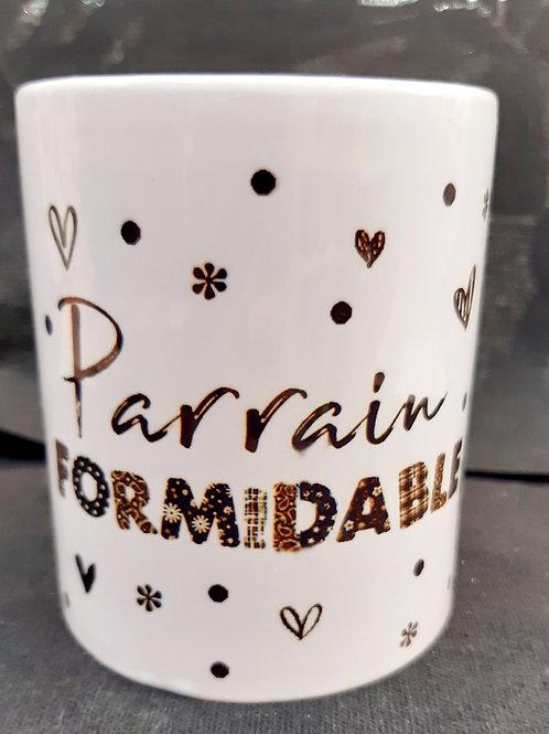 Mug PARRAIN formidable