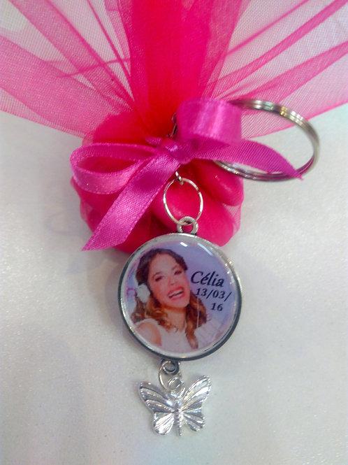 Porte clé personnalisé Violetta n°1