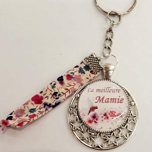 """Porte clé """"la meilleure Mamie"""""""