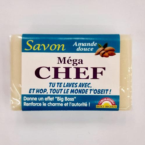 "Savon humoristique ""Méga chef"""
