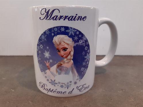 Mug personnalisable Elsa