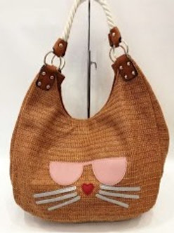 Sac besace chat