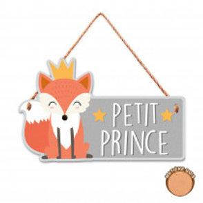 Plaque de porte renard