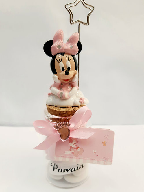 Bocal + pince Minnie Baby