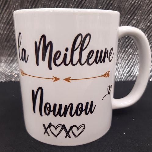 "Mug ""La meilleure Nounou"""