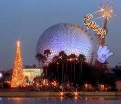 Epcot Christmas Magic