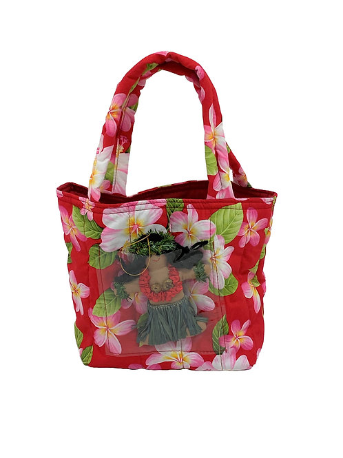 Red Hibiscus Little Girl's Bag
