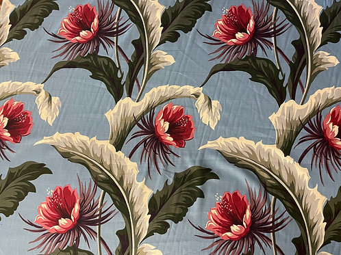 Tropical Oasis Sage Summer Fabric Sale
