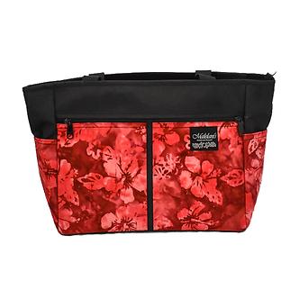Red Hibiscus Batik Mailelani