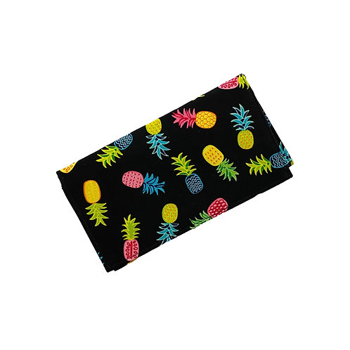 Happy Pineapples Checkbook Cover