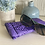 Thumbnail: Tropical in Purple Eyeglass Case