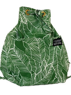 Banana Patch in Green Backpack